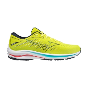 Mizuno Wave Rider 25 - Sunny Lime/Sky Captain/Ignition Red