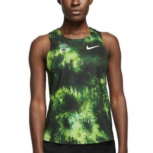 Nike Aeroswift Oregon Track Club Canotta - White/Pine Green/White
