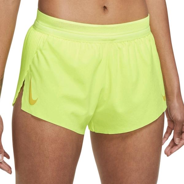 Nike Aeroswift 3in Shorts - Volt/Bright Citron