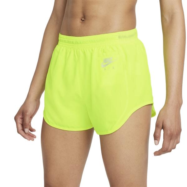 Nike Air Dri-FIT Essential 3in Shorts - Volt/Purple Pulse/Reflective Silver