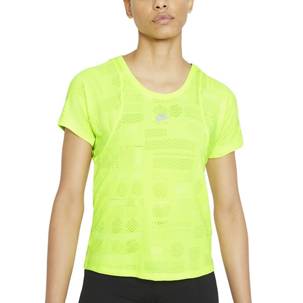 Nike Air Dri-FIT T-Shirt - Volt/Reflective Silver