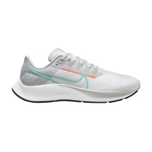 Nike Air Zoom Pegasus 38 - White/Dynamic Turquoise/Pure Platinum
