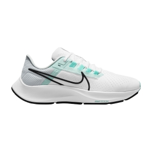 Zapatillas Running Neutras Mujer Nike Air Zoom Pegasus 38  White/Oil Grey/Pure Platinum CW7358102