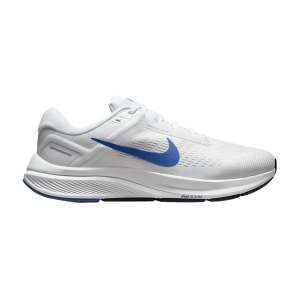 Nike Air Zoom Structure 24 - White/Hyper Royal/Pure Platinum/Black