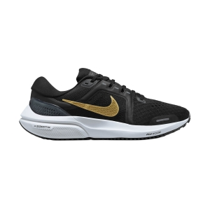 Nike Air Zoom Vomero 16 - Black/Metallic Gold Coin/Dark Smoke Grey