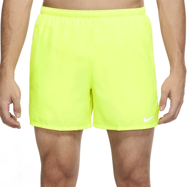Nike Challenger 5in Shorts - Volt/Reflective Silver