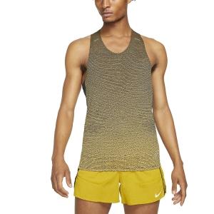 Nike Run Division Pinnacle Canotta - Black/Citron Pulse/Reflective Black