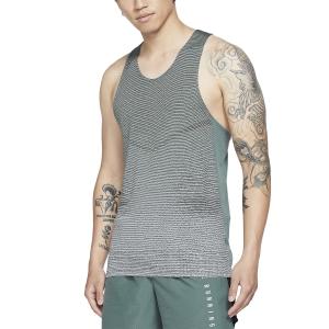 Nike Run Division Pinnacle Tank - Hasta/Light Silver/Reflective Black