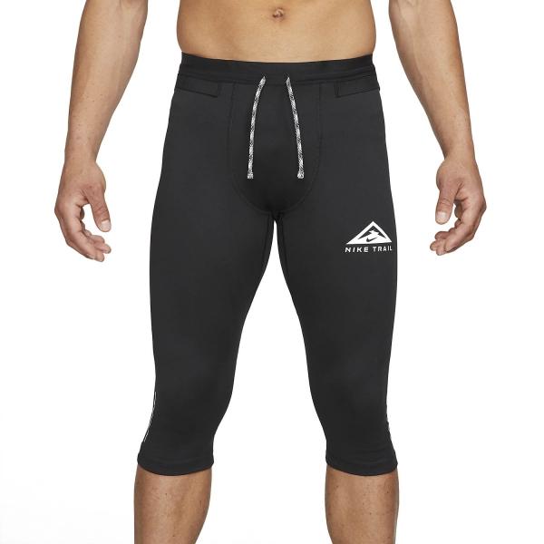 Nike Dri-FIT 3/4 Tights - Black/Dark Smoke Grey/White