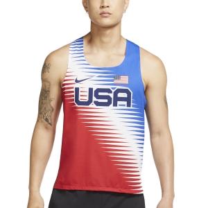 Nike Team USA AeroSwift Top - University Red/Black