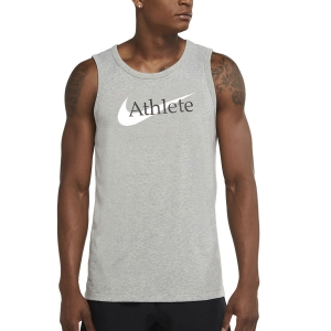 Nike Dri-FIT Athlete Canotta - Dark Grey Heather