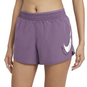 Nike Dri-FIT Femme 10k 3.5in Shorts - Amethyst Smoke/White