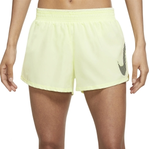 Nike Dri-FIT Icon Clash 10k 3.5in Shorts - Lime Ice/Black