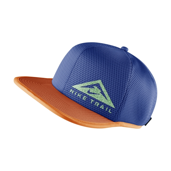 Nike Dri-FIT Pro Trail Cap - Signal Blue/Orange