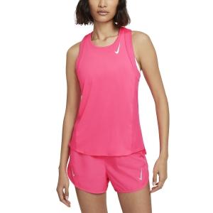 Nike Dri-FIT Race Tank - Hyper Pink/Reflective Silver
