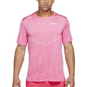 Nike Dri-FIT Rise 365 Camiseta - Hyper Pink/Heater/Reflective Silver