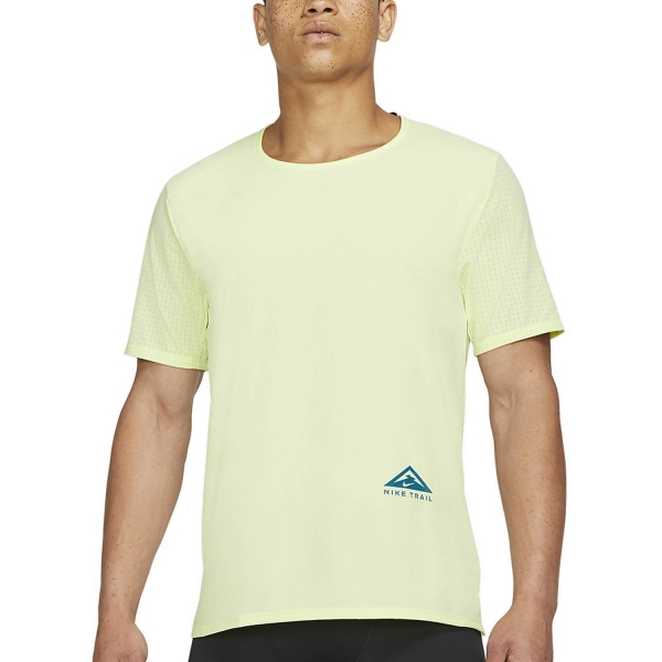 Nike Dri-FIT Rise 365 T-Shirt - Lime Ice/Reflective Silver
