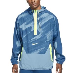 Nike Dri-FIT Sport Clash Jacket - Court Blue/Volt