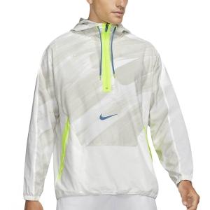 Nike Dri-FIT Sport Clash Jacket - White/Dutch Blue