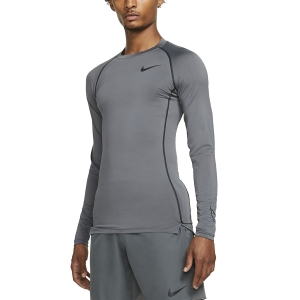Nike Dri-FIT Swoosh Logo Shirt - Iron Grey/Black