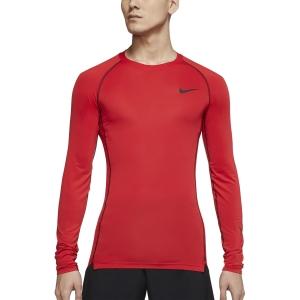 Nike Dri-FIT Swoosh Logo Shirt - University Red/Black