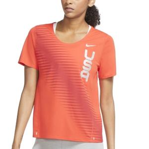 Nike Team USA City Sleek Camiseta - Chile Red/Reflective Silver