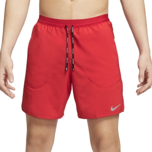Nike Flex Stride 2 in 1 7in Shorts - University Red/Reflective Silver