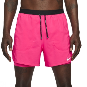 Nike Flex Stride 2 in 1 5in Shorts - Hyper Pink/Reflective Silver