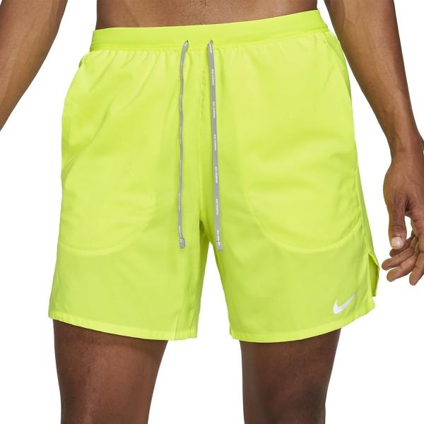 Nike Flex Stride 7in Shorts - Volt/Reflective Silver