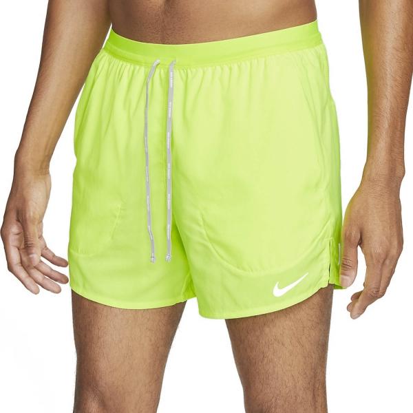 Nike Flex Stride 5in Shorts - Volt/Reflect Silver