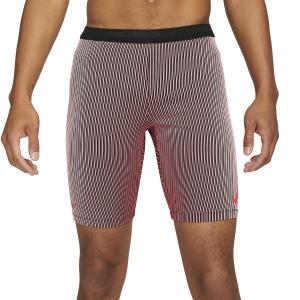 Nike Flyvent Aeroswift 9in Shorts - Black/Bright Crimson