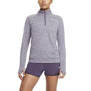 Nike Pacer Shirt - Amethyst Smoke/Heather/Reflective Silver