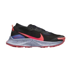 Nike Pegasus Trail 3 GTX - Black/Flash Crimson/Lapis Bright Mango