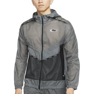 Nike Repel Wild Run Jacket - Smoke Grey/Off Noir/Reflective Silver