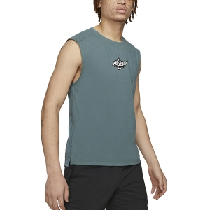 Men's Running Sleeveless Nike Rise Wild Run Tank  Hasta DA1171387
