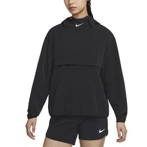 Nike Run Division Jacket - Black/Bright Crimson/Black