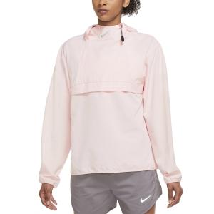 Nike Run Division Chaqueta - Pale Coral/Black