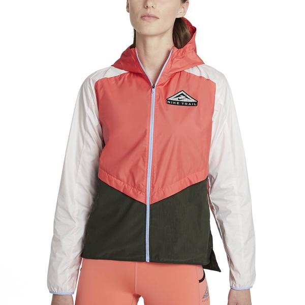 Nike Shield Jacket - Magic Ember/Light Soft Pink/Black