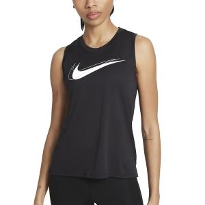 Nike Swoosh Tank - Black/White