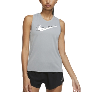 Nike Swoosh Top - Particle Grey/White