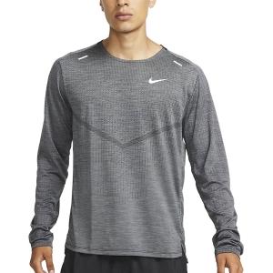 Nike TechKnit Ultra Camisa - Black/Iron Grey/Heather/Reflective Silver