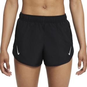Nike Tempo Race 3in Shorts - Black/Reflective Silver