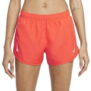 Nike Tempo Race 3in Shorts - Bright Crimson/Reflective Silver