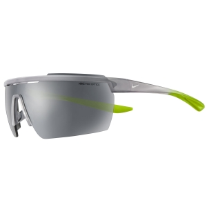 Gafas de Running Nike Windshield Elite Gafas  Matte Wolf Grey/White W/Silver Flash Lens 43631012