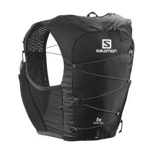 Salomon Active Skin 8 Set Backpack Woman - Black/Ebony