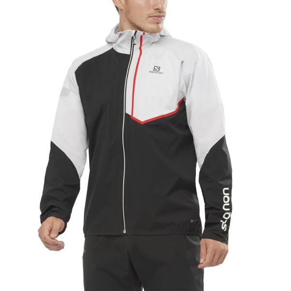 Salomon Bonatti Trail WP Jacket - White/Black