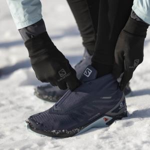 Salomon Supercross Winter CSWP - Mood Indi/Quiet Shade/Crystl Bl