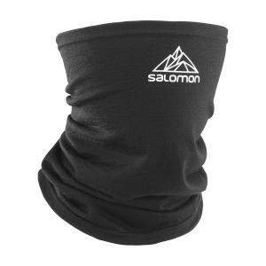Salomon Tour2Cool Wool Scaldacollo - Black/White