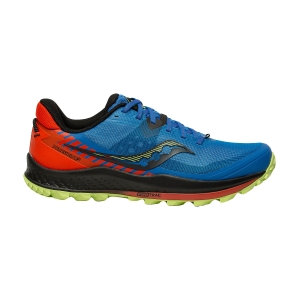 Saucony Peregrine 11 - Royal/Space/Fire