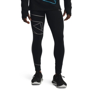Under Armour Empowered Tights - Black/Concrete/Reflective